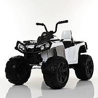 Детский Квадроцикл на аккумуляторе M 3999EBLR-1 белый. Разные цвета. 4Х4. Полный привод.