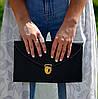 Сумочка-клатч Flat на цепочке. Женская сумка. Вечерняя сумка. Жіноча сумка, фото 3
