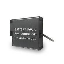 Аккумулятор AHDBT-501 - аналог (AABAT-001) для GoPro Hero 5, 6, 7 - 1220 ma