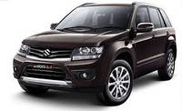 Защита заднего бампера Suzuki Grand Vitara (2011-2015)