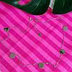 Серебряное колье с монетками - Колье минимализм Монетки серебро родированное, фото 2