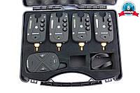 Набор сигнализаторов поклёвки с пейджером WORLD4CARP FA211-4