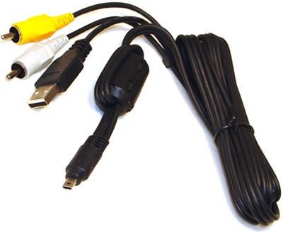 Кабель (шнур) USB UC-E6 аудио-видео USB кабель для камер FujiFilm