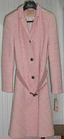 Милое розовое пальто