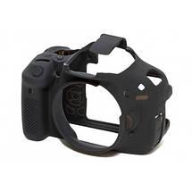 Защитный силиконовый чехол для фотоаппаратов Canon EOS 600D, 650D, 700D  - черный, фото 2