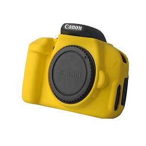 Захисний силіконовий чохол для фотоапаратів Canon EOS 600D, 650D, 700D - жовтий