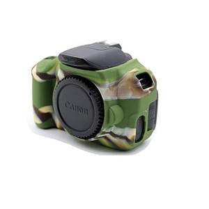 Захисний силіконовий чохол для фотоапаратів Canon EOS 600D, 650D, 700D - камуфляжний