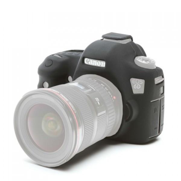 Защитный силиконовый чехол для фотоаппаратов Canon EOS 6D  - черный