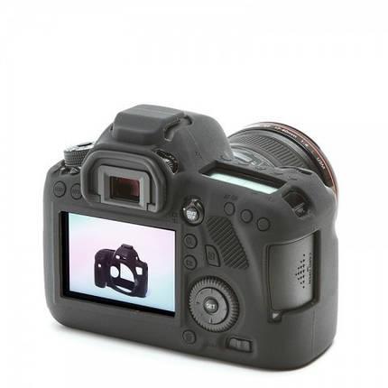 Защитный силиконовый чехол для фотоаппаратов Canon EOS 6D  - черный, фото 2