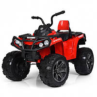 Детский Квадроцикл на аккумуляторе M 3999EBLR-3 красный. Разные цвета. 4Х4. Полный привод.
