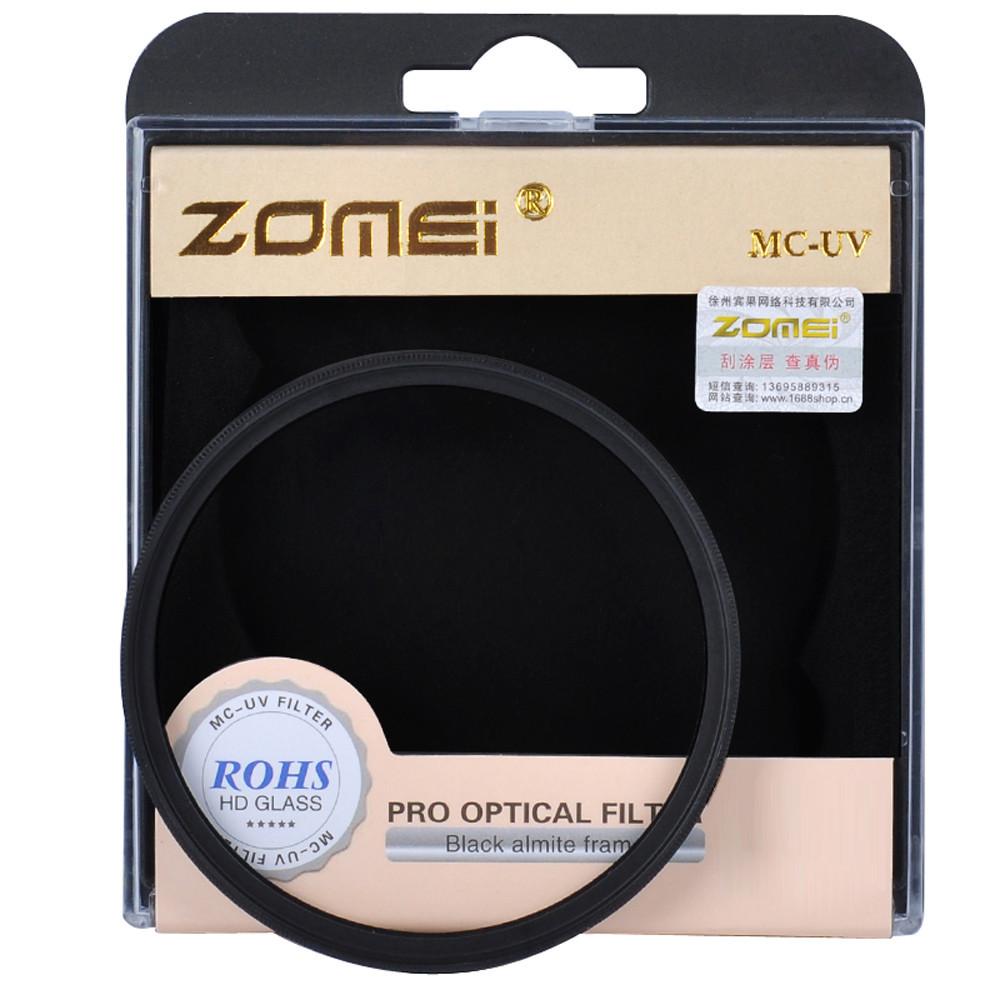 Ультрафиолетовый защитный cветофильтр ZOMEI 62 мм с мультипросветлением MC UV