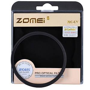 Ультрафиолетовый защитный cветофильтр ZOMEI 77 мм с мультипросветлением MC UV