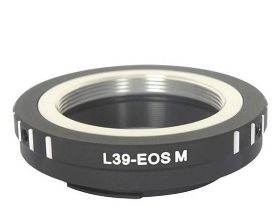 Адаптер (переходник) M39 - CANON EOS M (для беззеркальных камер - байонетом EOS M) для EOS M, M3, M10, M5, M6 , фото 2