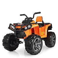 Детский Квадроцикл на аккумуляторе M 3999EBLR-7 оранжевый. Разные цвета. 4Х4. Полный привод.