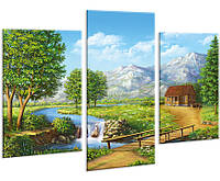 Модульная картина на холсте 96х70см Пейзаж