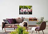 Модульная картина на холсте 96х70см Цветы, фото 4