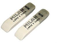 Ластик, резинка стирательная Milan 8030, скошенный
