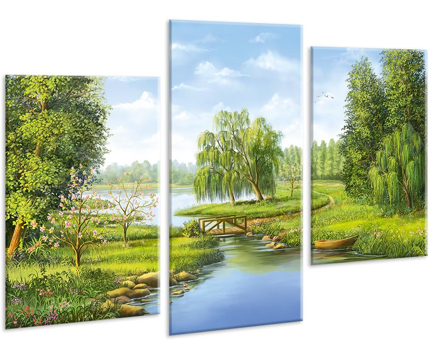 Модульная картина на холсте 96х70см Природа