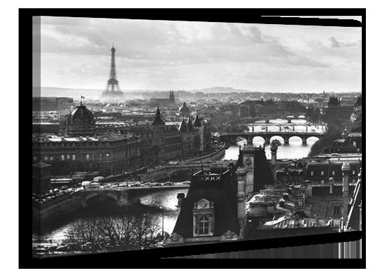 Картина на холсте 50 х 70 см Париж