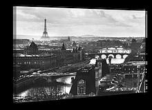 Картина на полотні 50 х 70 см Париж