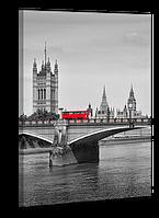 Картина на холсте 50 х 70 см Лондон