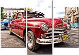 Модульная картина на холсте 96х70см Авто, фото 2