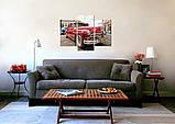 Модульная картина на холсте 96х70см Авто, фото 3