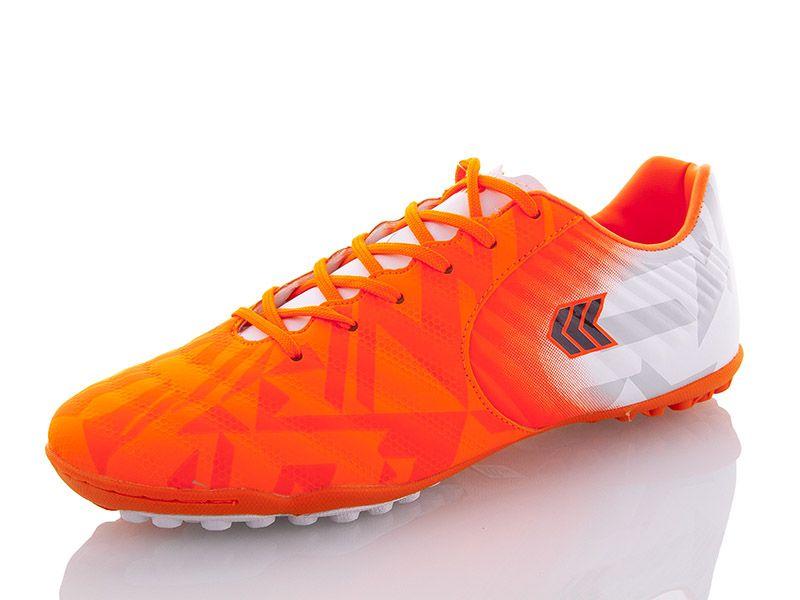 Сороконожки для футбола Restime оранжевые, размеры в наличии ► [ 41 42 43 44 45 ]