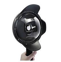 Подводный бокс DOME PORT от SHOOT для камер GoPro Hero 3, 4 - (20 см) v. 2 (код № XTGP320), фото 2