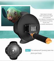Подводный бокс DOME PORT от SHOOT для камер GoPro Hero 3, 4 - (20 см) v. 2 (код № XTGP320), фото 3