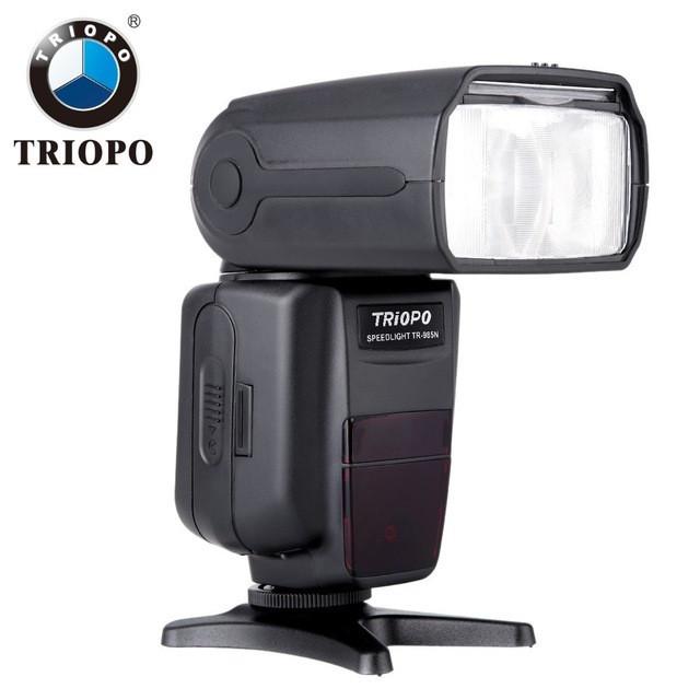 Вспышка Triopo TR-985 с I-TTL и HSS для фотоаппаратов Nikon