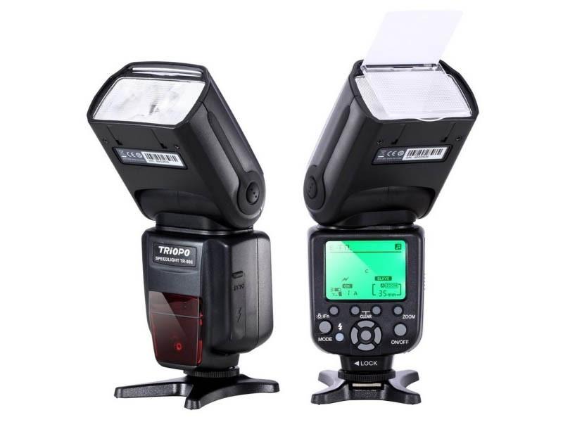 Вспышка Triopo TR-988 с E-TTL и HSS для фотоаппаратов CANON