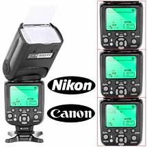 Вспышка Triopo TR-988 с E-TTL и HSS для фотоаппаратов CANON, фото 2
