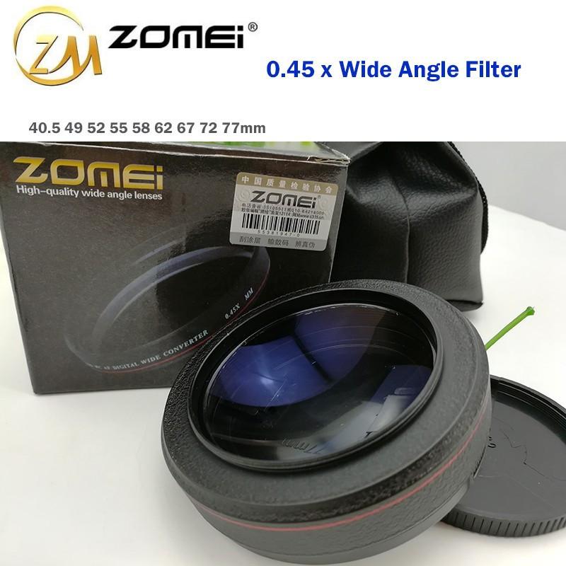 "Широкоугольная насадка - оптический конвертер, ""wide-angle"" - ZOMEI - 67 мм - 0.45x"
