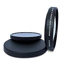"Широкоугольная насадка - оптический конвертер, ""wide-angle"" - ZOMEI - 67 мм - 0.45x, фото 2"