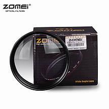 "Широкоугольная насадка - оптический конвертер, ""wide-angle"" - ZOMEI - 72 мм - 0.45x, фото 2"