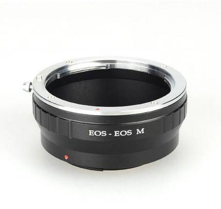 Адаптер (переходник) CANON EOS - CANON EOS M (для беззеркальных камер) для EOS M, M3, M10, M5, M6 и т. д., фото 2