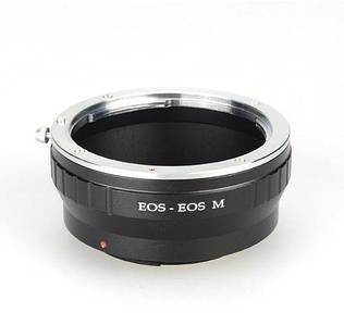 Адаптер (переходник) CANON EOS - CANON EOS M (для беззеркальных камер) для EOS M, M3, M10, M5, M6 и т. д.