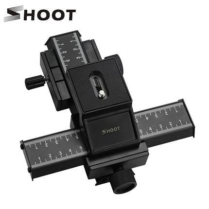 Двухуровневая макро-рельса LP-04 от SHOOT (для перемещения в 4-х направлениях) (код XT-360), фото 2