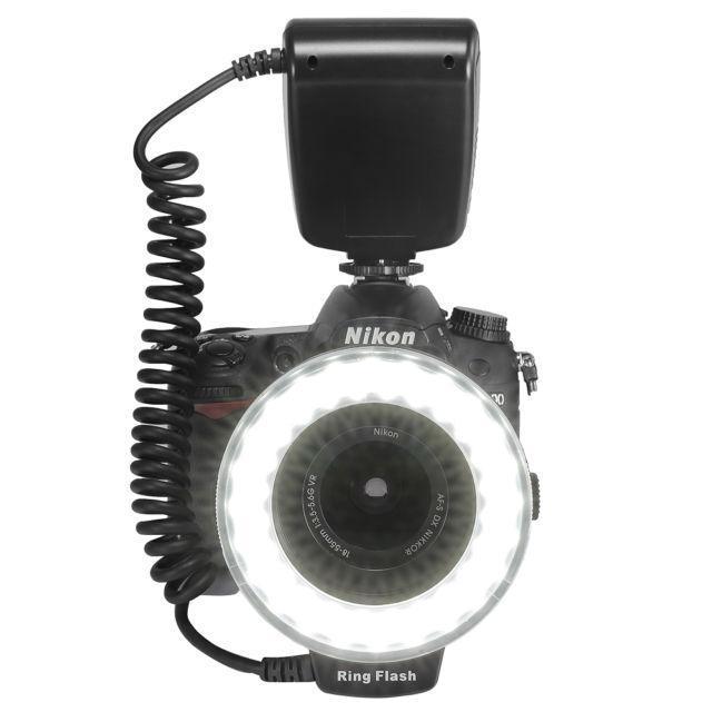 Кольцевая LED макровспышка Travor RF550 для фотоаппаратов