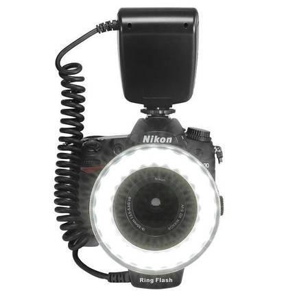 Кольцевая LED макровспышка Travor RF550 для фотоаппаратов, фото 2