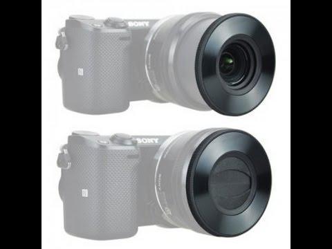 Крышка автоматическая - самооткрывающаяся Z-S16-50 передняя для объективов SONY - E PZ 16-50 F 3.5-5.6 от JJC