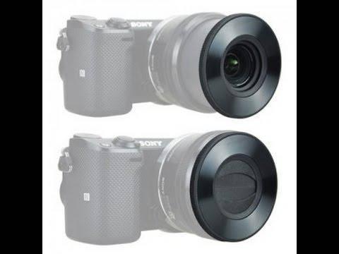 Крышка автоматическая - самооткрывающаяся Z-S16-50 передняя для объективов SONY - E PZ 16-50 F 3.5-5.6 от JJC, фото 2