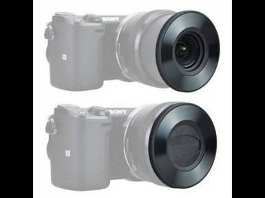 Кришка автоматична - самооткрывающаяся Z-S16-50 передня для об'єктивів SONY - E PZ 16-50 F 3.5-5.6 від JJC
