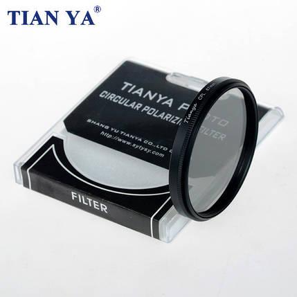 Поляризационный светофильтр Tianya 40.5 мм CPL, фото 2