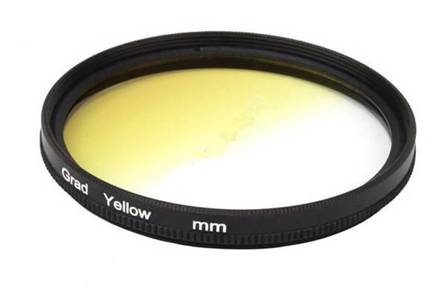 Градиентный светофильтр CITIWIDE 77 мм - желтый (yellow), фото 2