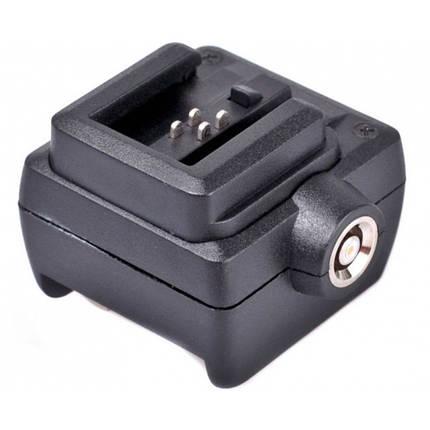 "Адаптер (переходник) JSC-6 ""горячего башмака"" для камер Sony на стандартный горячий башмак от JJC, фото 2"