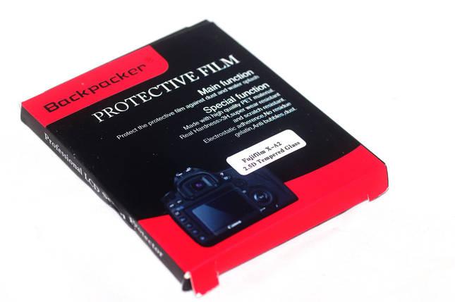 Защита LCD экрана Backpacker для Fujifilm X-A1, X-A2, X-M1, X30, X-T10, X-T20 - закаленное стекло, фото 2