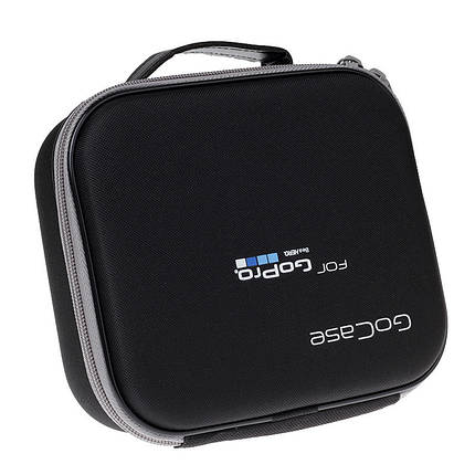 Кейс, футляр (GoCase-средний) для экшн-камер размер (19 х 16 х 6.5) для GoPro и других экшен камер, фото 2