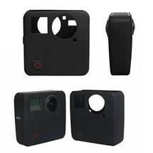 Силиконовый чехол, футляр экшн камер GoPro Fusion - черный (код № XTGP465), фото 2